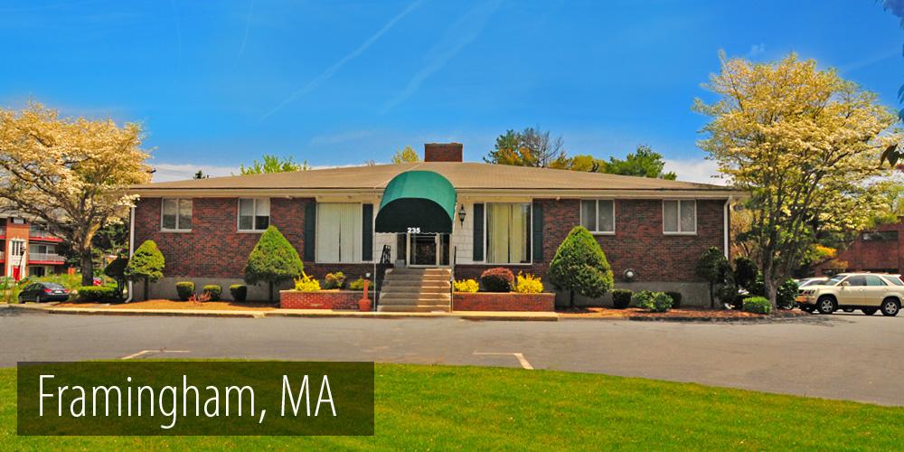 Our Framingham, MA Location